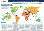 COUNTRY RISK ASSESSMENT MAP • 2nd QUARTER 2018