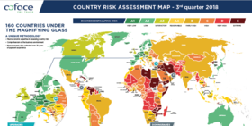 Country Risk Assessment Map - 3rd quarter 2018
